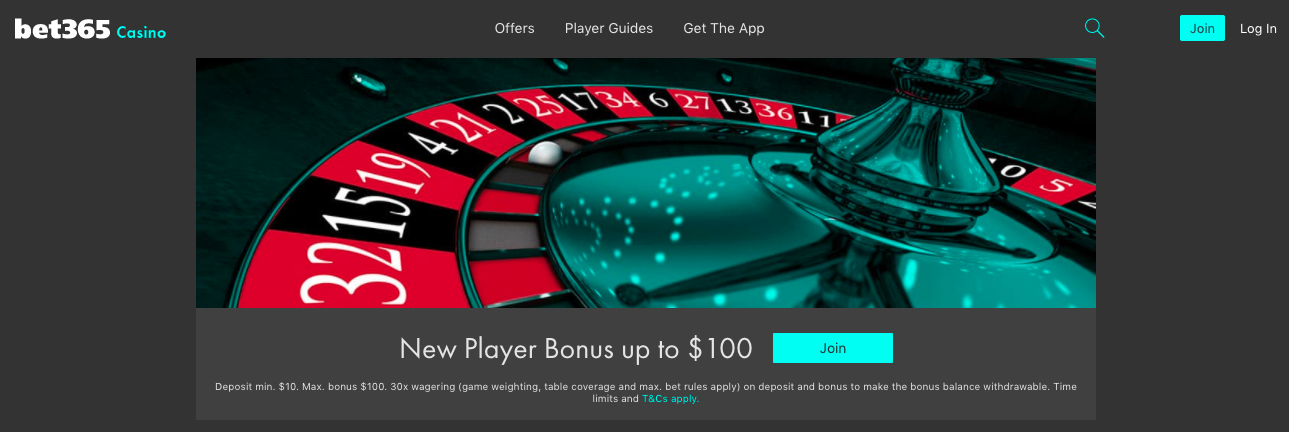 bet365 Casino Review: An Unbiased Overview of bet365 Screenshot